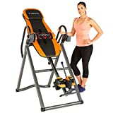 Exerpeutic 475SL Inversion Table with AIRSOFT No Pinch Ankle Holders & SURELOCK Safety Ratchet