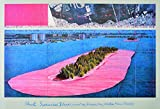 Germanposters Christo Surrounded Islands Poster Kunstdruck