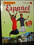 Espanol Santillana, Practice Workbook (Middle School 1B)