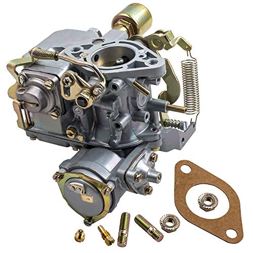 Price comparison product image Carburetor for VW 34 PICT-3 1600cc Dual-Port Engine, for VW Beetle / Super Beetle 1971-1979, for VW Thing 1973-1974, for VW Karmann Ghia 1971-1974, for VW Squareback 1967-1973