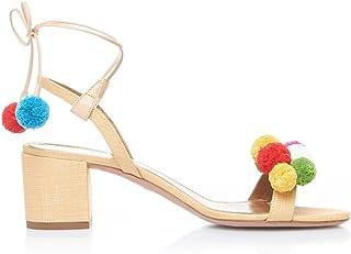 34df5f89668c58 YY Sandali Con Lacci Pompon Sandali Colorati Per Donna Sandali Estivi  Sandali Con Tacco