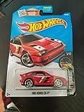 Hot Wheels 2016 Night Burnerz 1985 Honda CR-X 85/250, Red