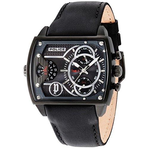 Police Herren-Armbanduhr Scorpion Analog Quarz 14698JSB/13A