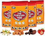 Survival Tabs 8-Day Food Supply 96 Tabs Emergency Food Replacement Disaster Preparedness for Earthquake Flood Tsunami Gluten Free and Non-GMO 25 Years Shelf Life Long Term Food Storage - Mixed Flavor