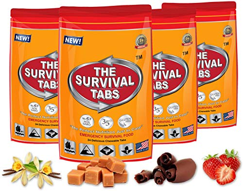 Survival Tabs 8-day Food Supply