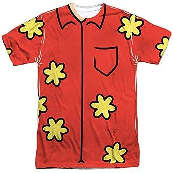 The Family Guy Quagmire Costume  Front Back Print  Mens Sublimation Shirt XL