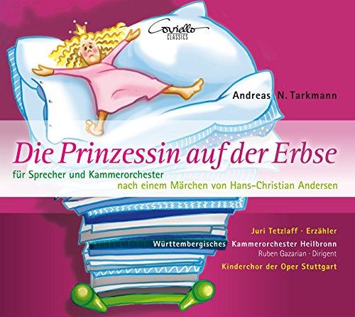 Die Prinzessin auf der Erbse / Der Mistkäfer - Stücke für Sprecher und Kammerorchester nach einem Märchen von Hans-Christian Andersen