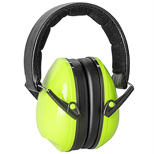 Noise Cancelling Safety Ear Muffs Ear Protection Defenders Earmuffs for Shooting Hunting - Hearing Protection for Kids Adults Men Women with Adjustable Headband