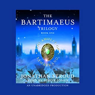 The Amulet of Samarkand: The Bartimaeus Trilogy, Book 1 audiobook cover art
