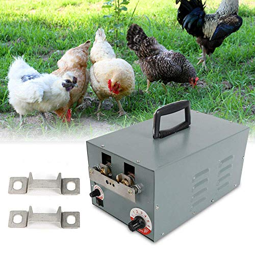 Automatic Chicken Debeaking Machine, Electric Automatic Chick Debeaker Cutting Equipment for Poultry Chicken Beak Cutter 110V 250W (US Stock)