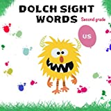 Dolch SECOND GRADE sight words | dolch sight words book: dolch sight words flash cards all levels (Dolch sight word list)