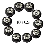 BZ 3D POM Big Plastic Pulley Wheel Linear Bearing Pulley Passive Round Wheel Roller for En...