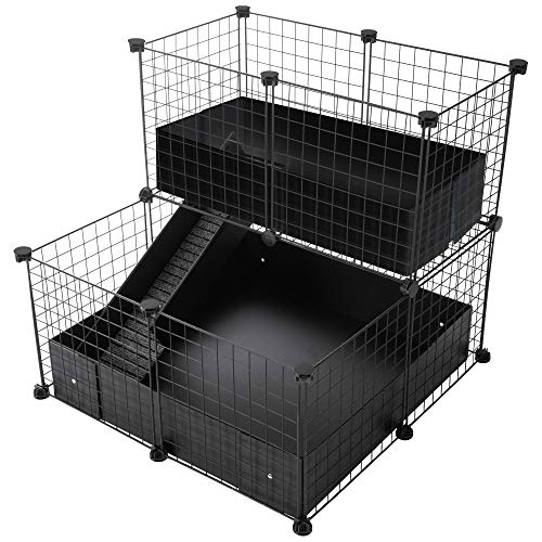 CagesCubes - Jaula CyC Deluxe Compact (Base 2X2 + Loft 2x1 -...