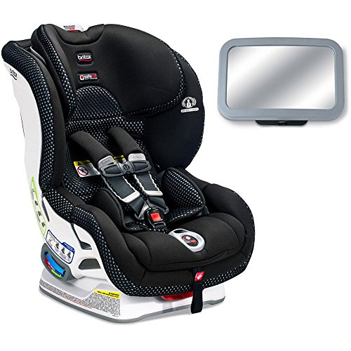 Affordable Britax Boulevard ClickTight Cool Flow Collection Convertible Car Seat with Back Seat Mirr...