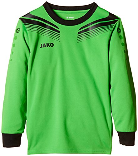 JAKO Kinder Torwart Trikots Pro, Soft Green/Schwarz, 116