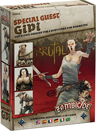 Zombicide Black Plague Special Guest Gipi Asmodee - Gioco da tavolo - Gioco da tavolo - Gioco di personaggi