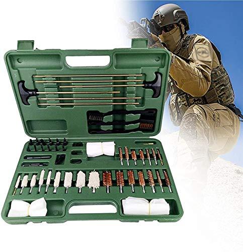 MARHD Kit De Limpieza De Armas, Accesorios De Pistola, Estación De Limpieza De Pistolas, 3 Varillas De Latón Macizo para 30-Cal Y Rifles Más Grandes, Pistolas Escopetas
