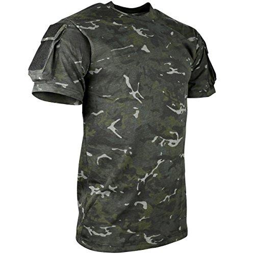 Kombat UK – T-Shirt à Manches Courtes pour Hommes Petit BTP Black