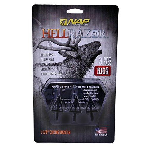 NEW ARCHERY PRODUCTS CORP Nap Hellrazor 100gr Broadhead by