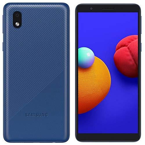 Samsung Galaxy A01 Core A013M/DS, US & Global 4G LTE, International Version (No US Warranty), 16GB, 1GB RAM, Blue - GSM Unlocked