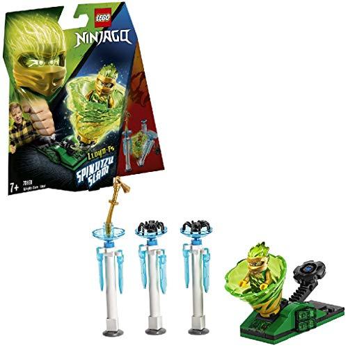 LEGO Ninjago - Spinjitzu Slam: Lloyd Set de construcción de Peonza Ninja de Juguete de color Verde, Novedad 2019 (70681)