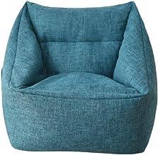 KEHUASHINA Sofa Bean Bag Chair Sofa Cover Removable Lazy Lounger Bean Bag Storage Soft Sofa Coat Sofa Slipcover for Indoor...