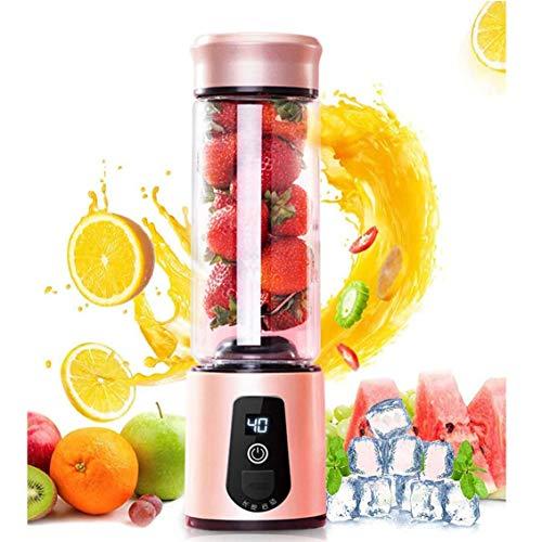 XYUN draagbare elektrische sapcentrifuge, usb-mini-fruitmixer, sapper, LED-machine, USB-blender, fruitextractor, levensmiddelen, maker, smoothie cup