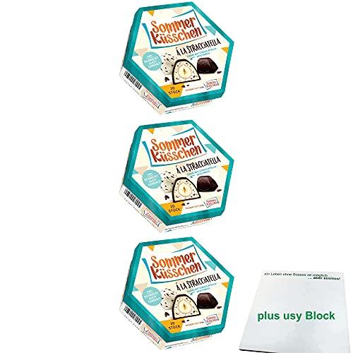 Ferrero Küsschen Stracciatella 3er Pack (3x 178g Packung) + usy Block