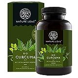 NATURE LOVE Bio Curcuma (240 Kapseln) - Curcumin &...