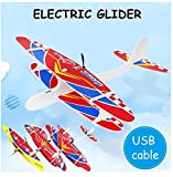 FunBlast Airplane Toy, Throwing Foam Plane, Aeroplane Gliders, Flying Aircraft, Best Gifts