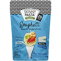 Skinny Pasta 270g - Fideos 100% Konjac (Fideos Shirataki), Espaguetis, Paquete de 6