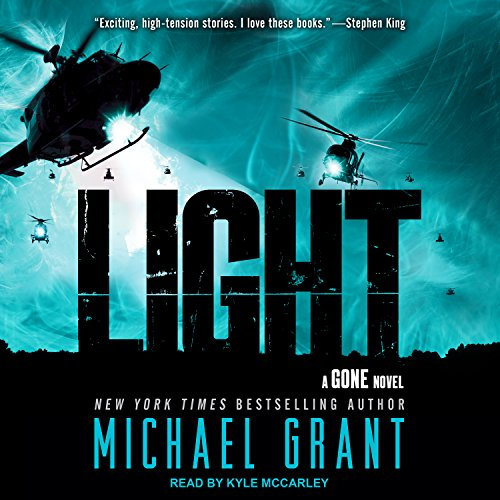 Light audiobook cover art