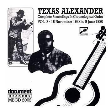 Texas Alexander Vol. 2 (1928-1930)