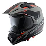 Astone Helmets TOURER-ADVGBM Crosstourer Adventure - Casco 3 en 1, color Gris, M