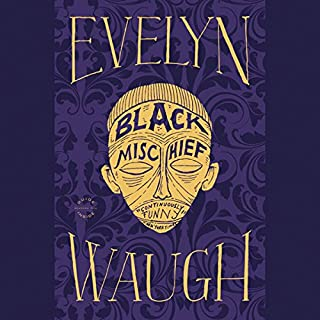 Black Mischief audiobook cover art