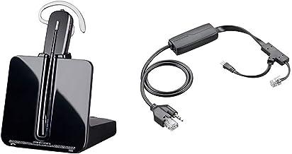 $203 » Plantronics-CS540 Convertible Wireless Headset Bundle with Plantronics EHS Cable APP-51 (Polycom)