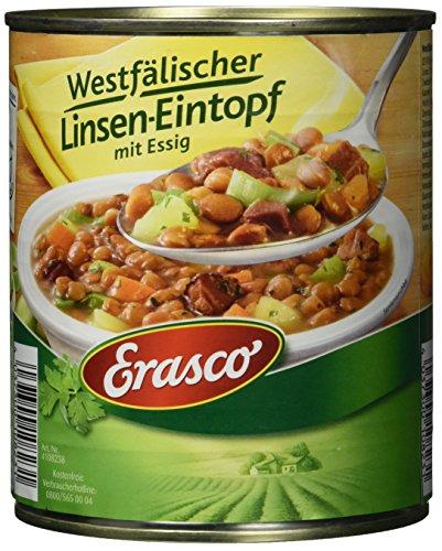 Erasco Westfälischer Linsen-Eintopf mit Essig (1 x 800 g Dose)