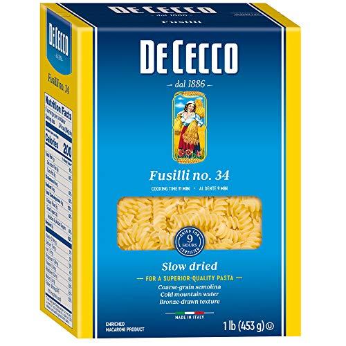 De Cecco Pasta, Fusilli, 16 oz