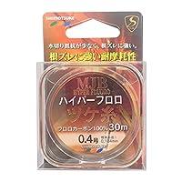 SHIMOTSUKE(シモツケ) フロロカーボンライン MJB ハイパーツケ糸 30m 0.4号 クリアー
