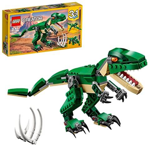 LEGO 31058 Creator Grandes Dinosaurios 3 en 1, Juguete de Construcción para Niños y Niñas a Partir de 7 años