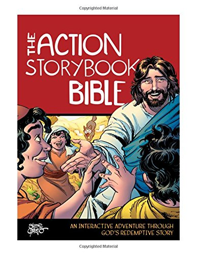 Compare Textbook Prices for The Action Storybook Bible: An Interactive Adventure through God's Redemptive Story Action Bible Series  ISBN 9780781414203 by DeVries, Catherine,Cariello, Sergio