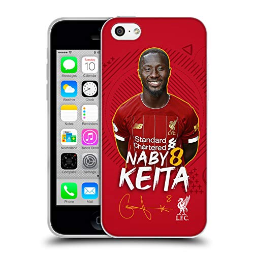 Head Case Designs Oficial Liverpool Football Club Naby Keita 2019/20 Primer Equipo Grupo 1 Carcasa de Gel de Silicona Compatible con Apple iPhone 5c