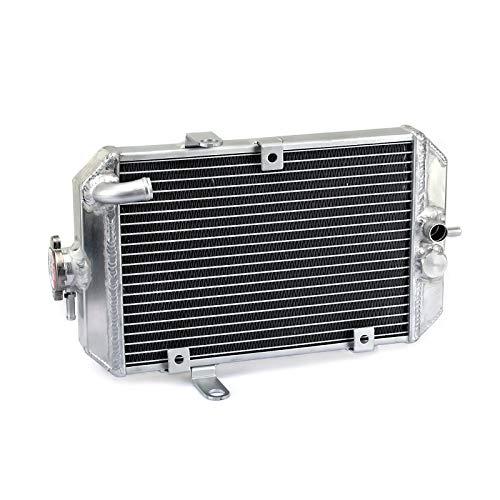 TARAZON ATV Moto Radiador Enfriamiento de Aluminio para Y.A.M.A.H.A Raptor 660 YFM660R 2001 2002 2003 2004 2005 2005, refrigeración del motor