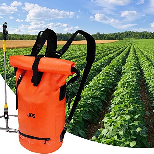 TELAM 20L Pulverizador de Presión Batería con Lanza,Pulverizador Agua, Pulverizador EléCtrico Ulv PortáTil Mochila Ajustable Jardin Pulverizador Plantas Ideal for Herbicida, de Malas Hierbas