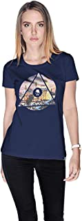 Creo Palestine T-Shirt For Women - S, Navy