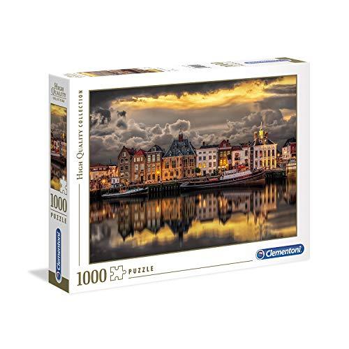 Clementoni- Collection: Dutch Dreamworld Puzzle, 1000 Piezas