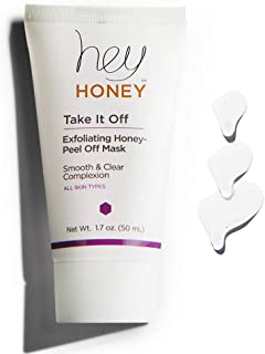 Hey Honey,Take It Off,Exfoliating Honey Peel Off Mask.Exfoliating honey beauty peel off mask that helps to promote a smoot...