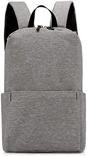 Bageek Unisex School Backpack Solid Color Student Backpack Laptop Backpack for Men Women