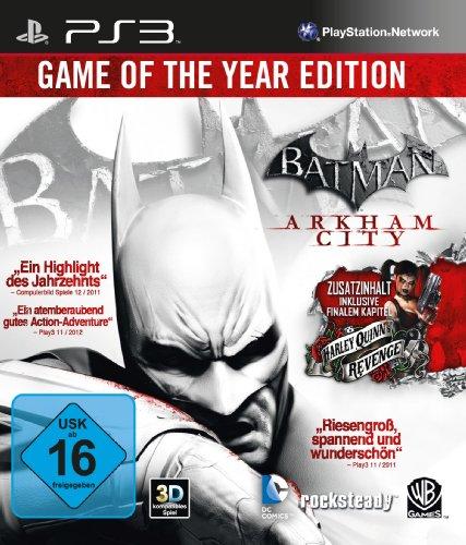 Batman: Arkham City - Game of the Year Edition [Importación alemana]
