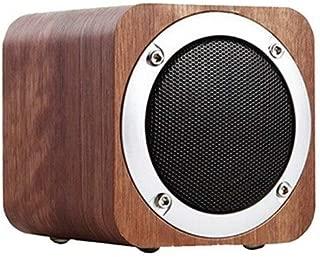 HONGTAI MX05 Wooden Speaker, Multimedia Audio Speaker, Computer Speaker - Brown (Color : Brown)